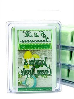 Jasmine & Green Apple - Pure Soy Wax Melts - Spring Scents -