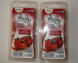 New Johnson Glade Wax Melts Apple Cinnamon , 8 Ct.
