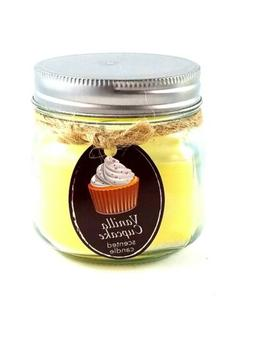 Koehler Home decor Vanilla Cupcake Mason Jar Candle