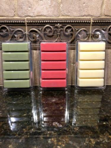 WAX MELTS DIFFERENT SCENTS