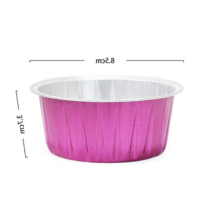 10pcs/3PCS Zoo Hard <font><b>Wax</b></font> Bowl Capacity Color Round Shape Foil <font><b>Wax</b></font> <font><b>Melting</b></font> Bowl