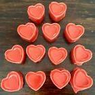 15 Pack Strong Scented Wax Melts Heart Shaped Tart Melts ~Yo