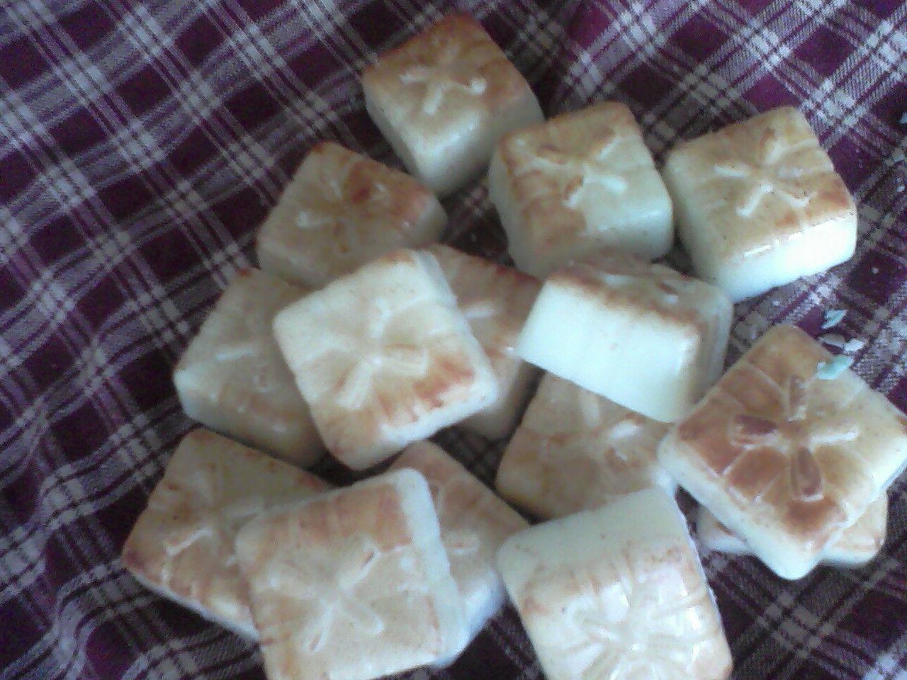 15 wax tart melt square teaberry green