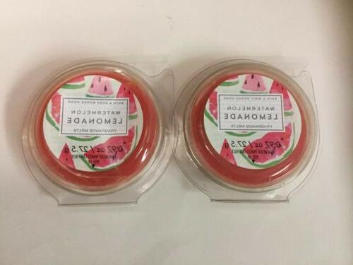 2 bath body works watermelon lemonade fragrance