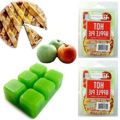 2 pack wax melts hot apple pie