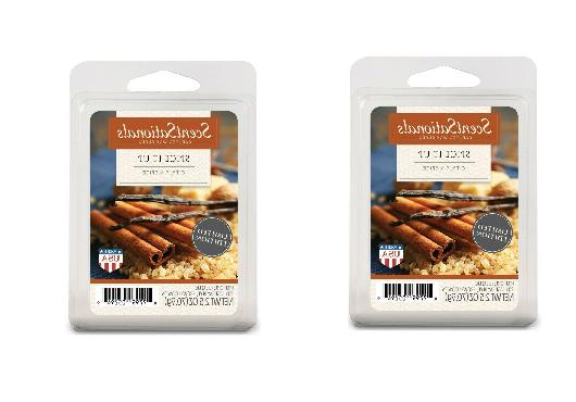 2 packs spice it up wax melts