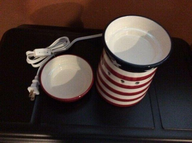 """2010 Scentsy Full-Size """" Candy """" With Extra Patriotic NEW"""