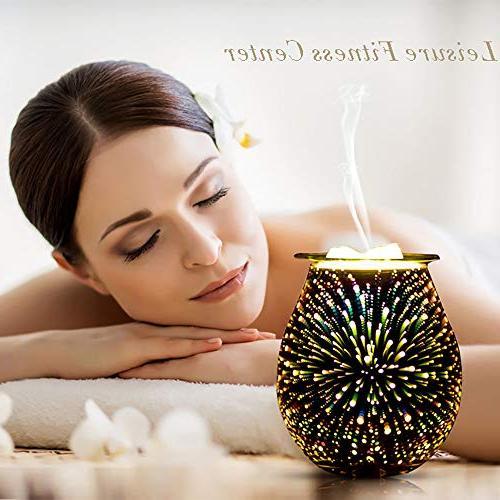 QUSUP Wax Warmer Warmer Fragrance Warmer Home Office Bedroom Gifts Decor