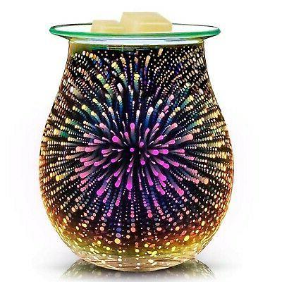 3d glass electric wax melt
