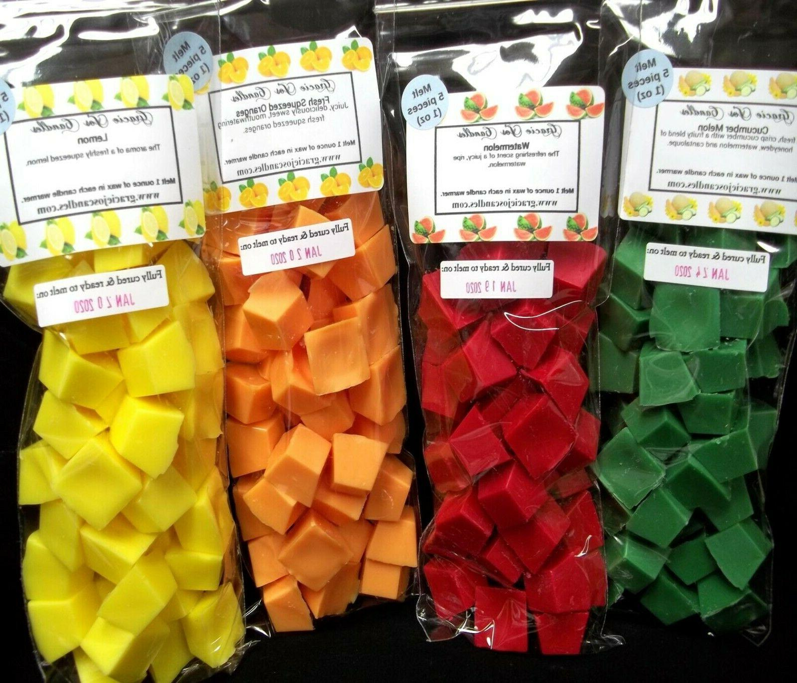 40 pc wax tarts melts 8 oz
