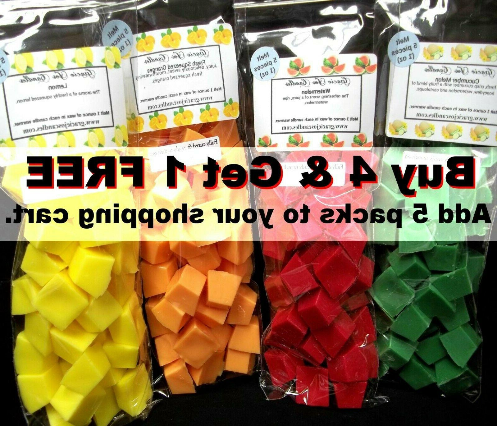 40 Melts oz Chunks Cubes Home Scents Soy Paraffin