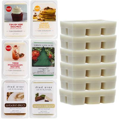 6 fragrant scented wax melts 2 5oz