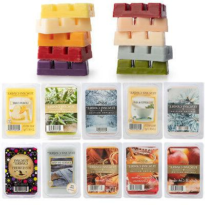 60 tuscany scented wax cubes soy candle