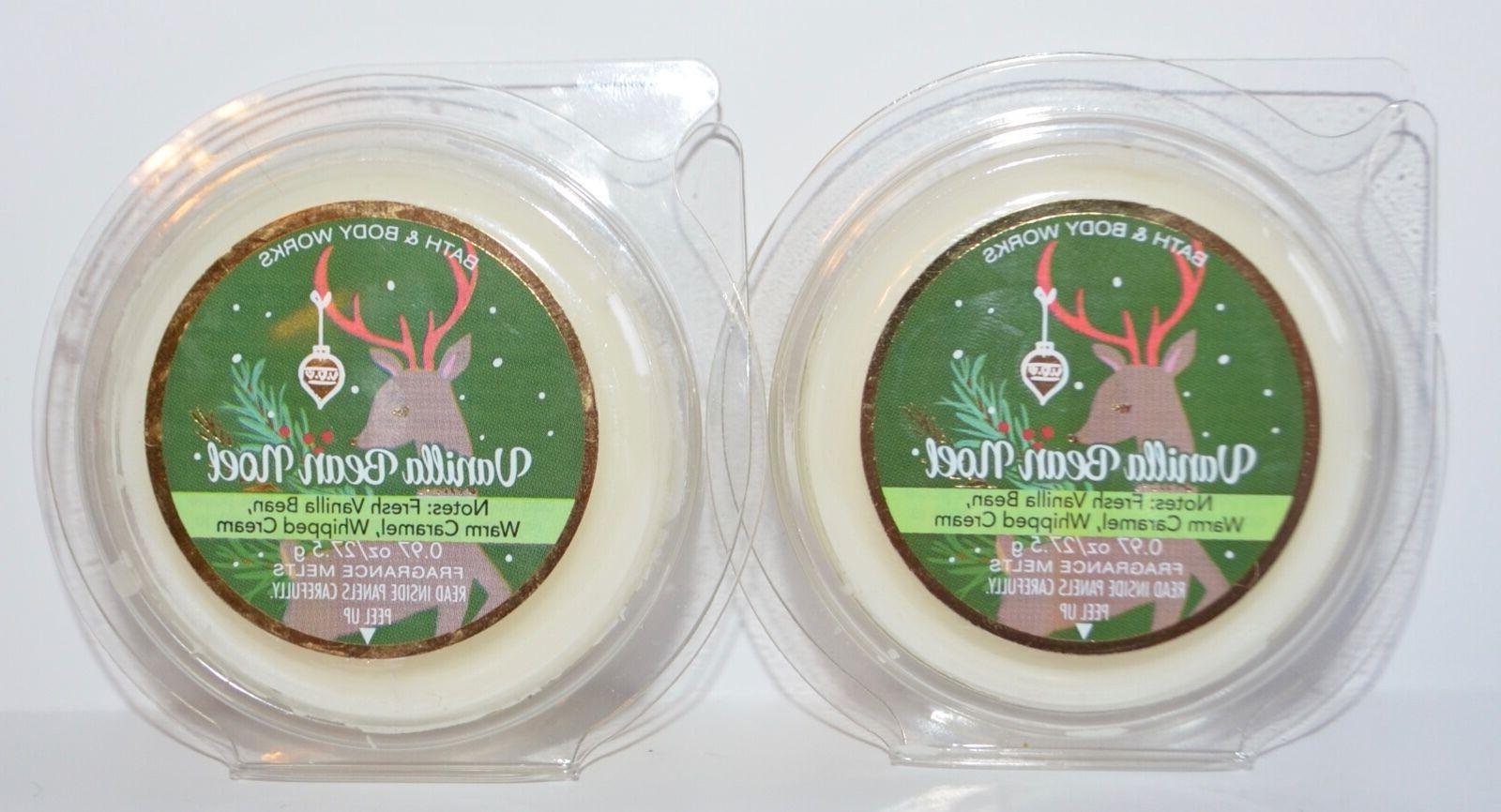 Bath & Body Works Wax Home Fragrance Melt Vanilla Bean Noel