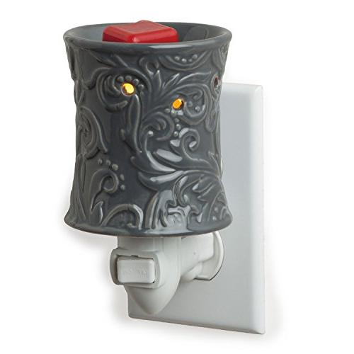 Candle Warmers Etc. Pluggable Fragrance Warmer, Rainstorm