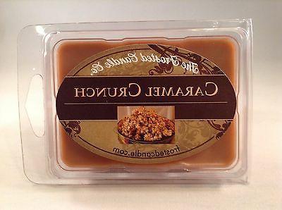 Caramel Crunch 2.5 oz Wax Melts Scent One Package Popcorn Fr