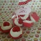 Cherry Mini Cupcakes Wax Melts  with Soy wax. Dessert candle