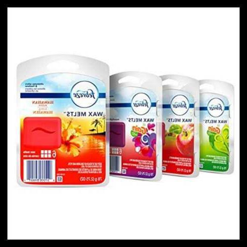Febreze Wax Melts Air Freshener Variety Pack, Fresh-Pressed
