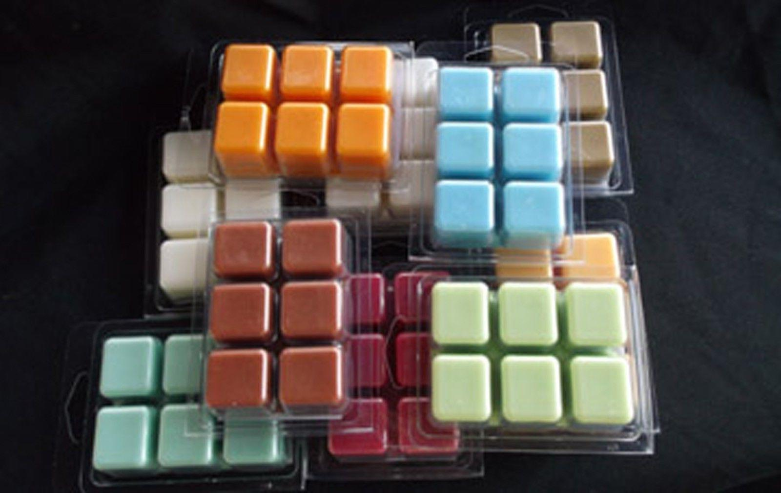 Heavily Scented Soy-Based Tart Melts pks of 6 cubes