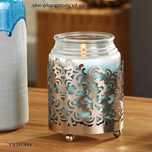 Jar Candle Tea Finish. Ideal Gift for Votive