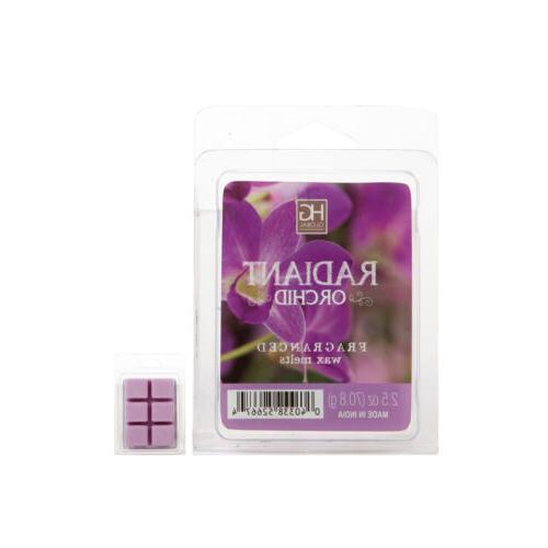 Hosley 6 Pack of 2.5oz Wax Cubes / Melts - RADIANT ORCHID O4