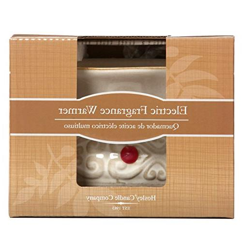 Hosley Ceramic Candle for Spa Use Brand Essential Oils O2