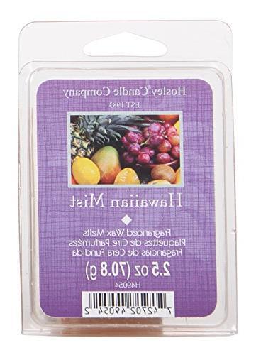Hosley Hawaiian Fruit Scented Wax Cubes/Melts - 2.5 oz. Hand