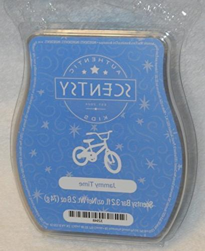 Jammy Time Scentsy Bar Wickless Candle Tart Warmer Wax 3.2 F