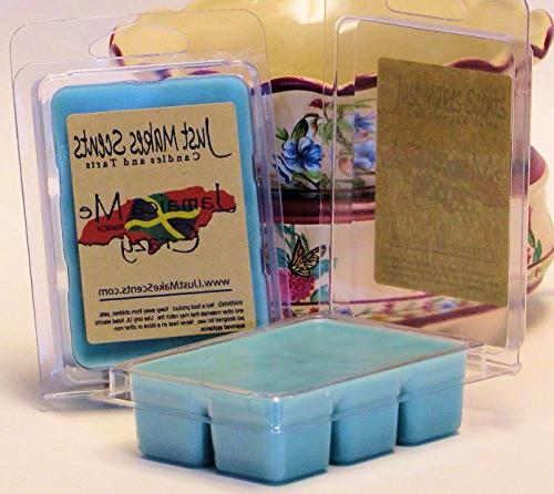 Just Crazy Scented Wax Melts Coconut, & Banana Fragrance Wax Cubes | Hand in USA Candles & Gifts