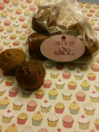 Blueberry Mini Muffins Wax Melts with  Soy wax   Dessert can