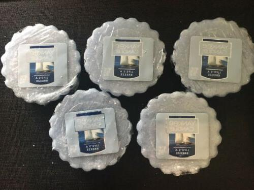 NEW Lot Of 5 Yankee Candle Wax Melts Life's A Beach Tarts.