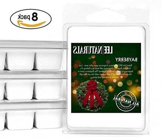 New 8 Pack Lee Naturals Winter Holiday Premium All Natural 6