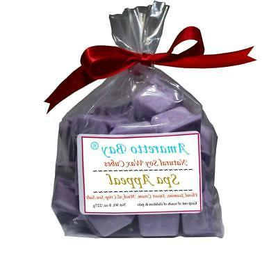 Soy Candle Wax Melts - 8 OZ  Bag- 16 Spa Appealing Scented W
