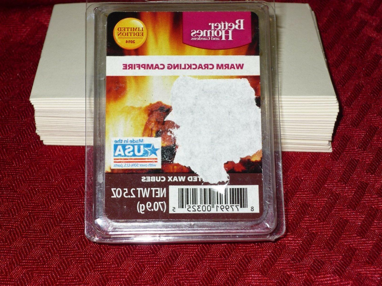 WARM CAMPFIRE HOMES & GARDENS Wax Cubes/Melts NEW