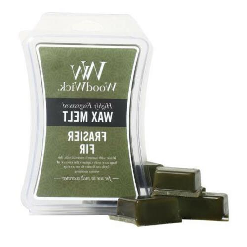 Woodwick Wax Melt 3 Oz. - Frasier Fir