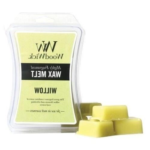 Woodwick Wax Melt 3 Oz. Set of 3 - Willow
