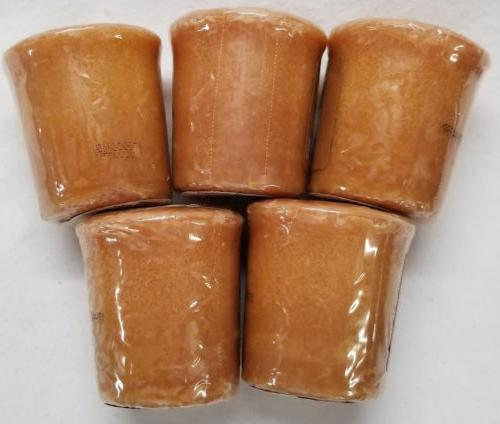 Yankee Candle Votives: SALTED CARAMEL of Brown