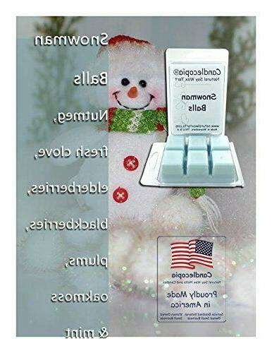 Candlecopia April Scented Wax Melts, 12