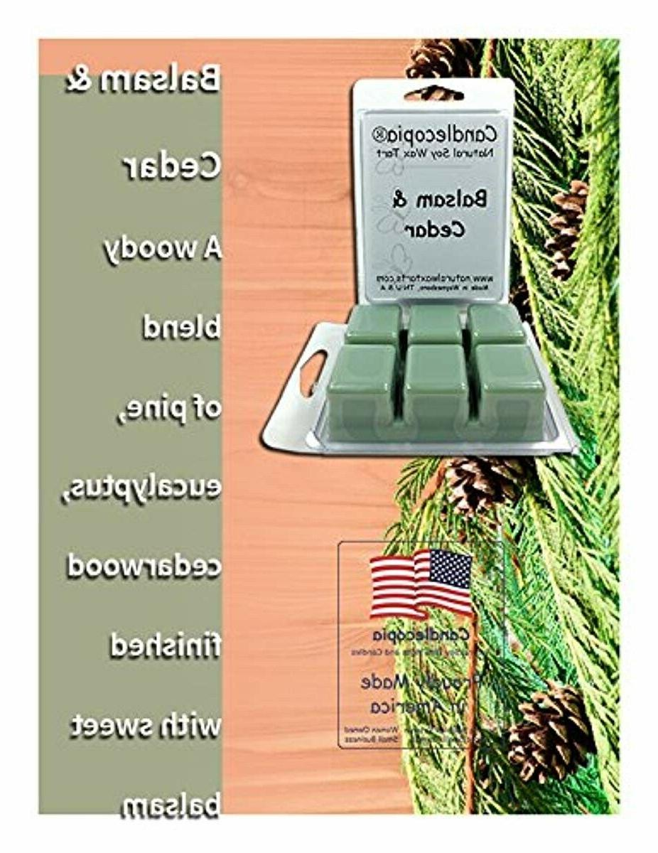Candlecopia Balsam Cedar Scented Poured Wax Melts