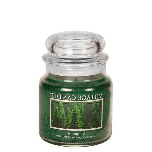 balsam fir glass jar scented