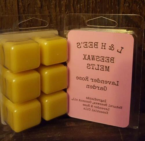 beeswax lavender rose garden wax melts