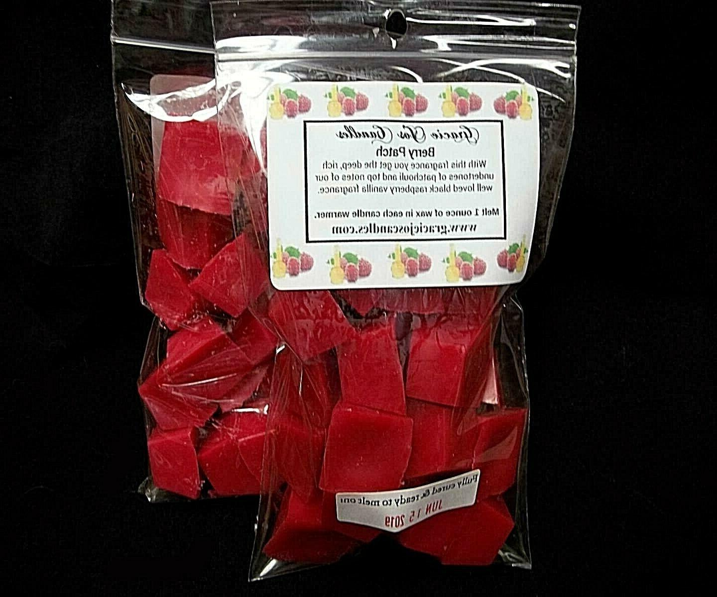 berry patch scented tart wax melts chunks