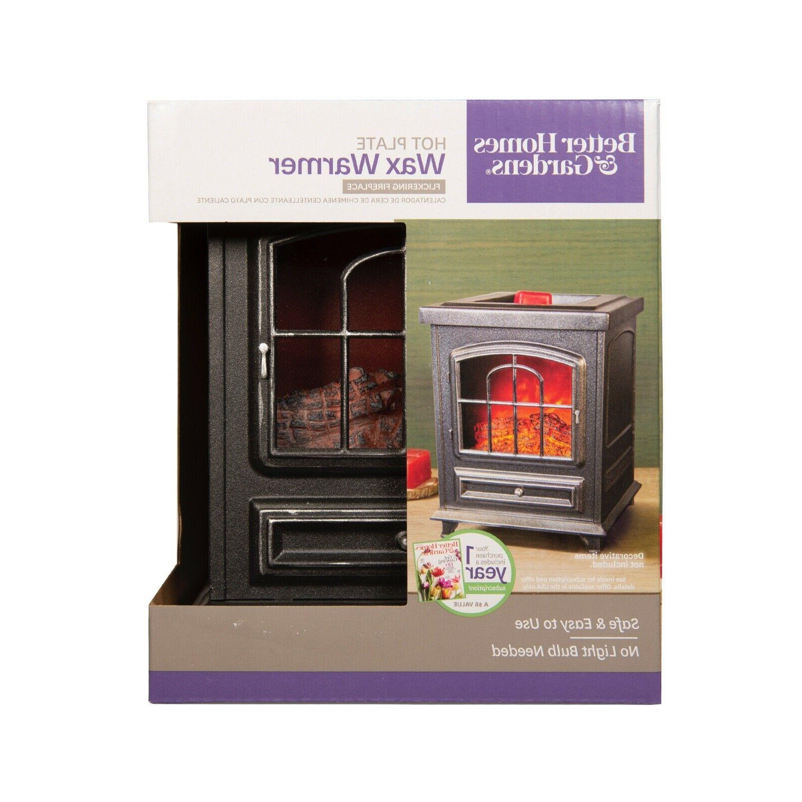 Better Wood Burning Stove Warmer Flickering