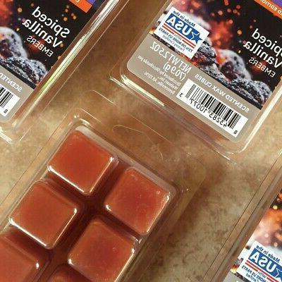 Better Gardens Spiced Vanilla Cubes Melts 4 New 2.5