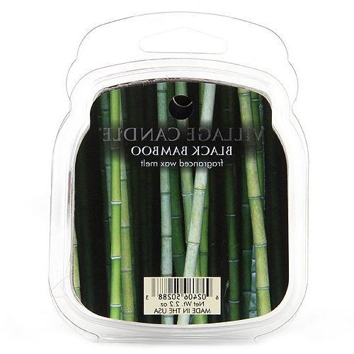 black bamboo melts