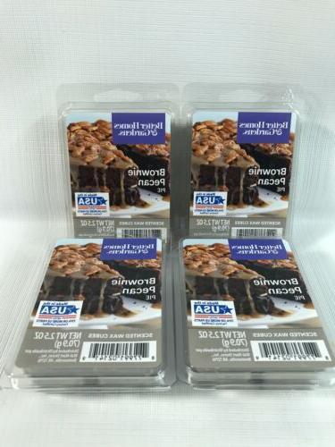 brownie pecan pie wax cubes