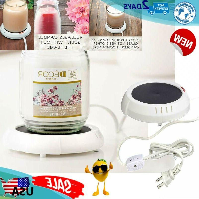 candle warmer plate drinks and soups melts