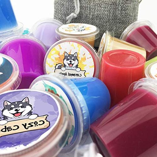 WoofWix Wax Tarts - Assorted- Mixed - - Wax