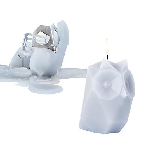 candles ugla owl skeleton candle
