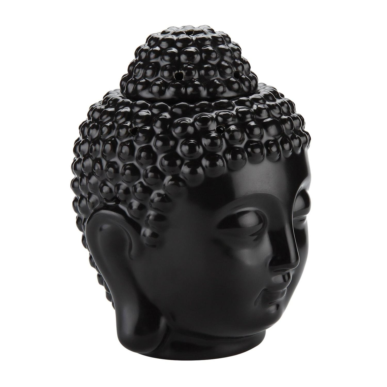 Ceramic Head <font><b>Oil</b></font> with Spoon Aromatherapy <font><b>Wax</b></font> <font><b>Burners</b></font> Diffuser Ornament